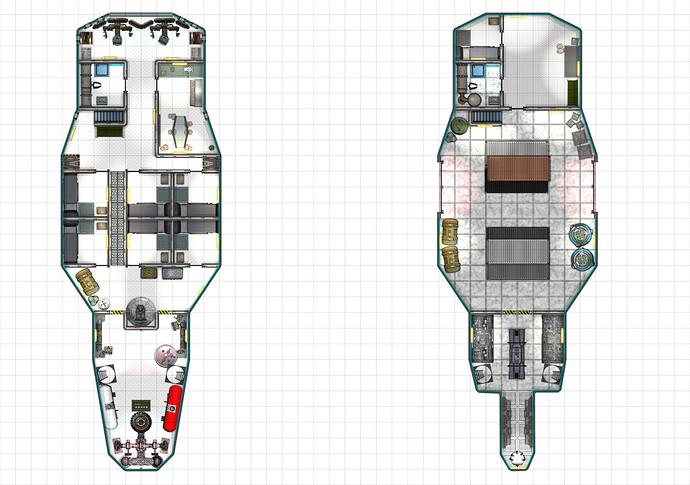 Darvro-class Light Freighter Deckplan small