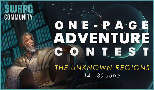 One-Page Adventure Contest 6.21 Teaser
